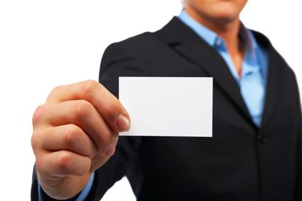 Aide au recrutement de commercial carré bleu
