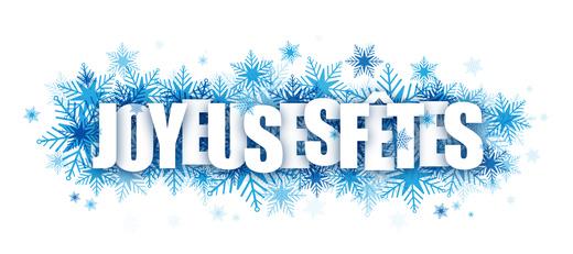 Bonnes fêtes de fin d 'année Carré Bleu